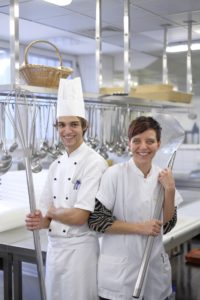 Mitarbeiter der Großküche im Rhön-Klinikum