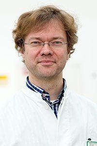 Stefan Schlesinger, Oberarzt der Neurologischen Klinik Bad Neustadt