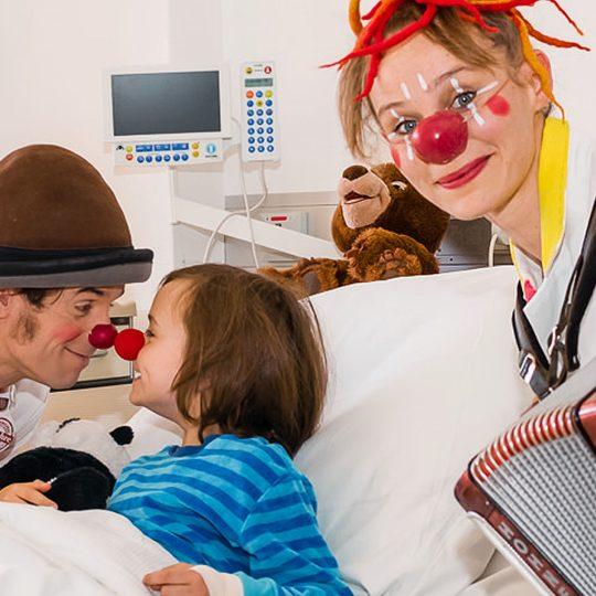 Clown-Doktoren am UKGM