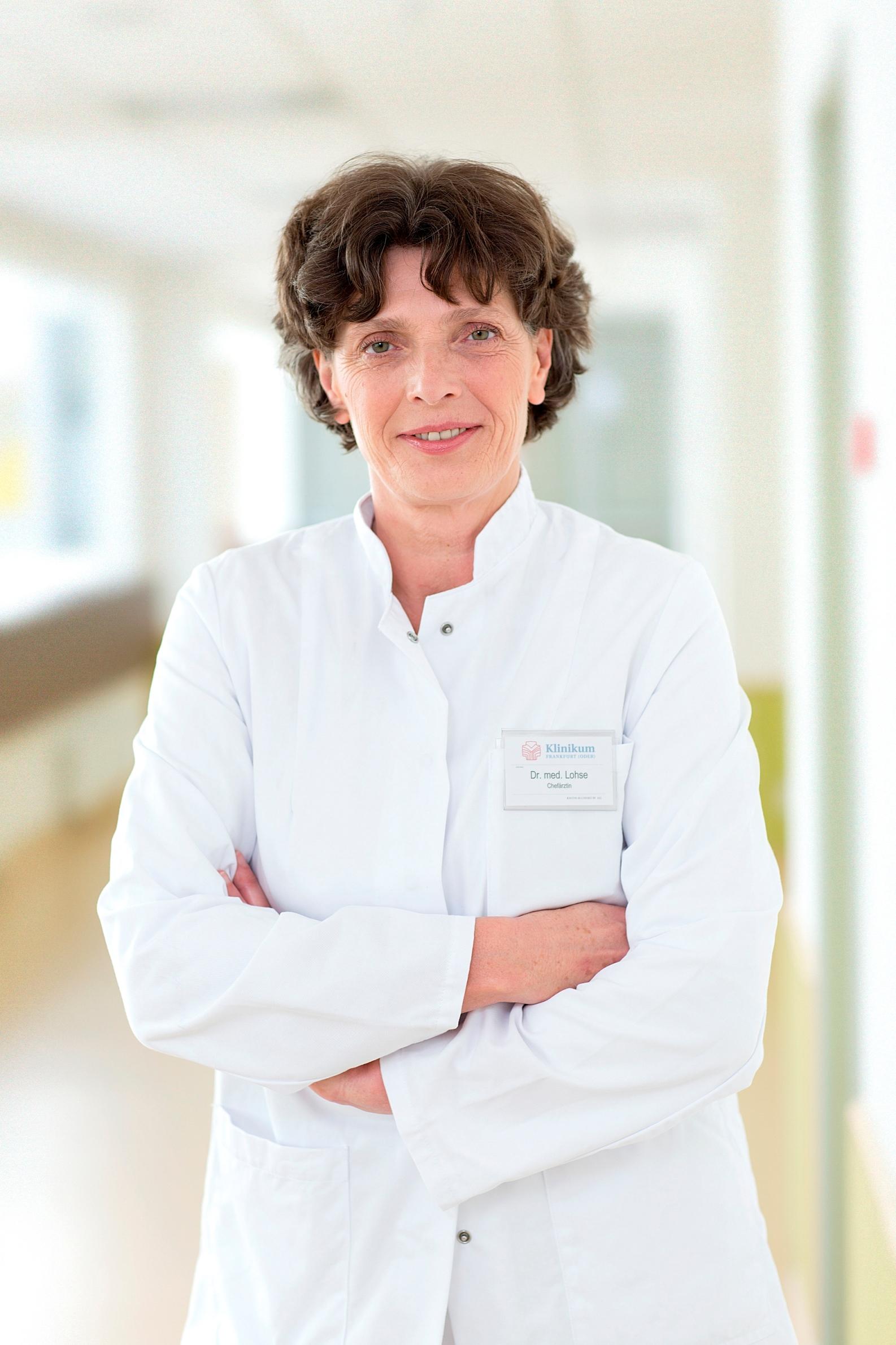 Dr. med. Kerstin Lohse, Chefärztin Klinik für Kinderchirurgie